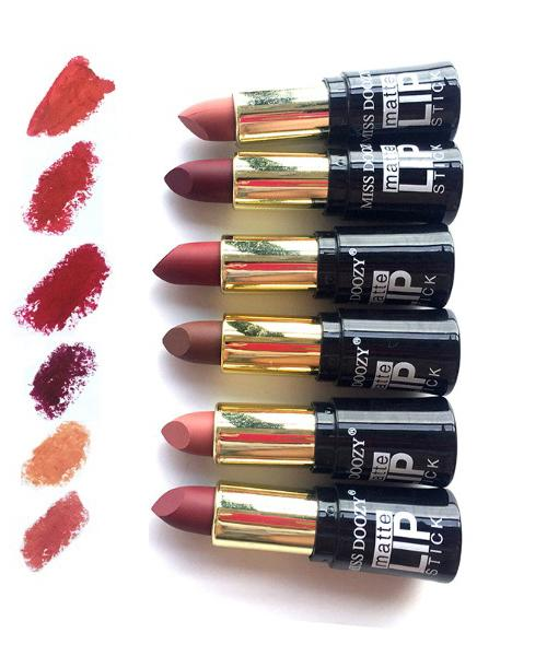 New Sexy Color Lipsticks Waterproof Matte