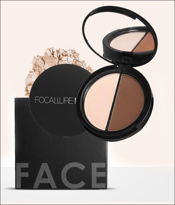 Palette 2 en 1  Bronzage et Surligner Buzz-Whorty by Focallure... MV38
