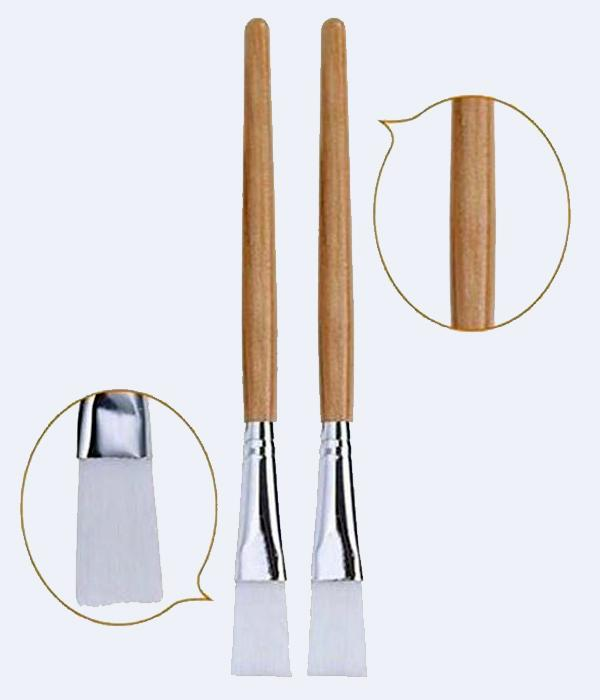 2pcs Professional brushes for beauty mask.