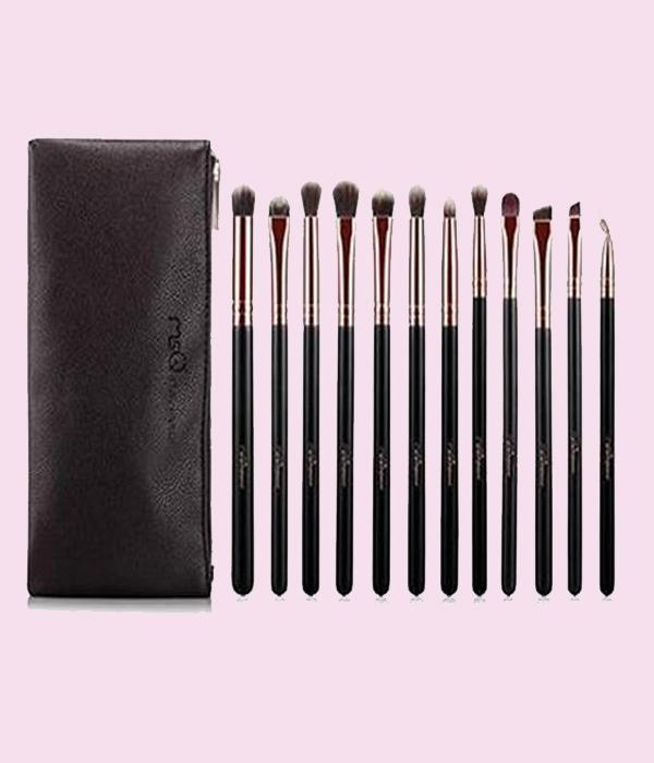 "MSQ 12pcs Set of brushes ""Vendôme"" for Eyeshadow ..."