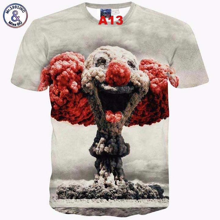 Tee-shirt 3D hommes tendance en coton et polyester... - Arnaud and Co