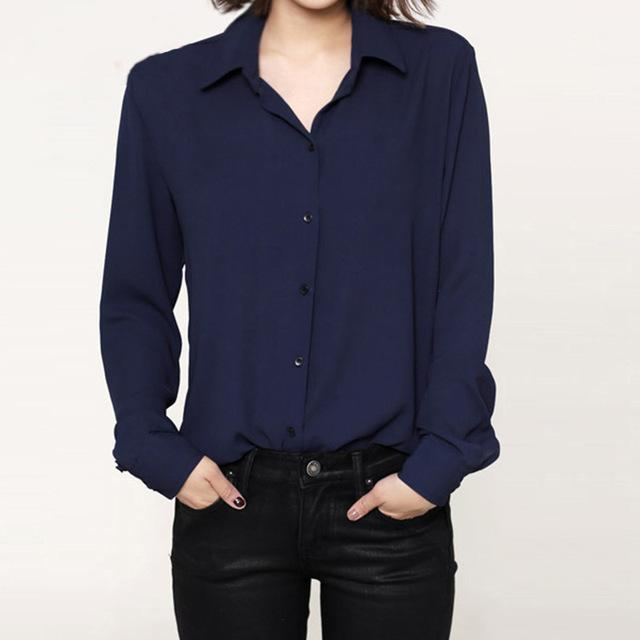 Modern chiffon shirt ... HCF010 - Arnaud and Co