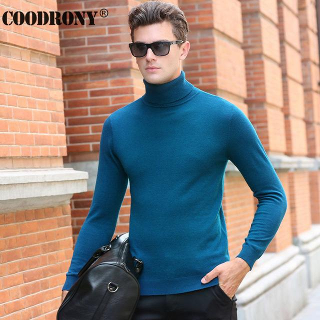 COODRORY Turtleneck 100% Cashmere. - Arnaud and Co