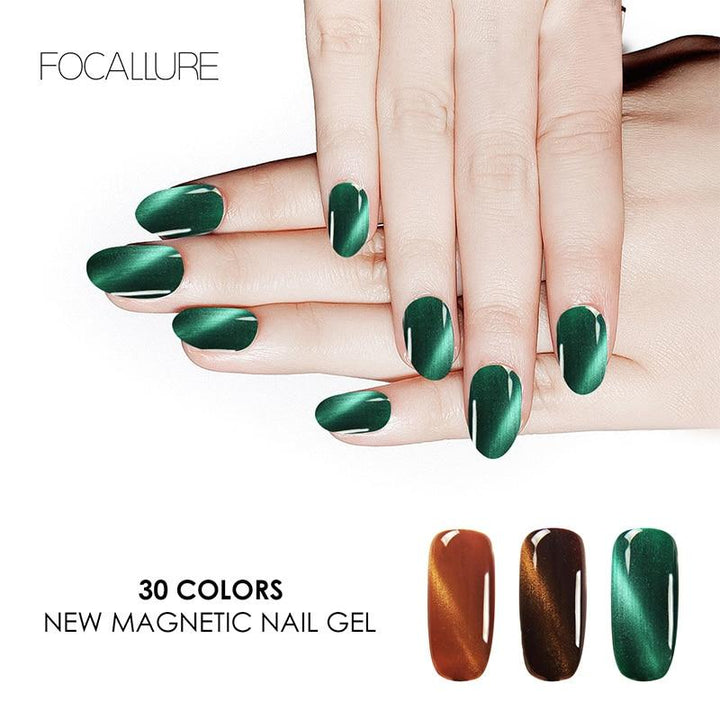 "FOCALLURE 7ML Pro Gel Magnétique ""Cat Eyes"" Semi-Permanent... CAE02 - Arnaud and Co"