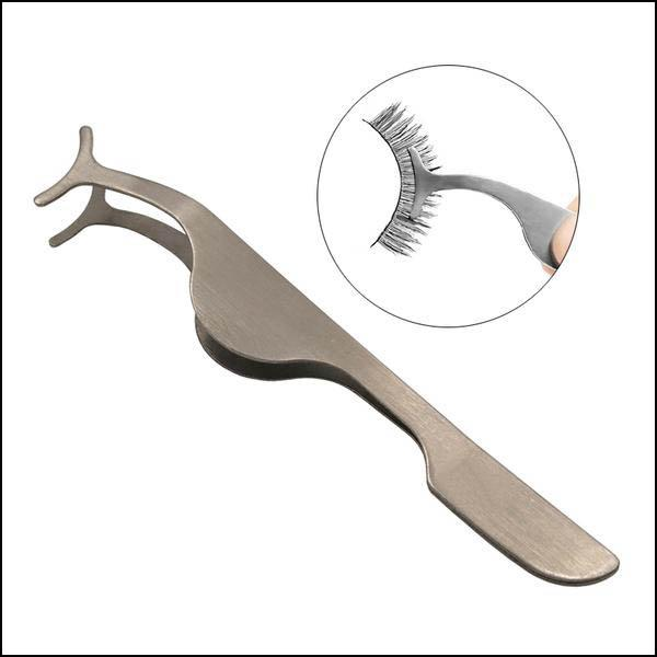 Tweezers made of stainless steel for fake lashes ... - Arnaud and Co
