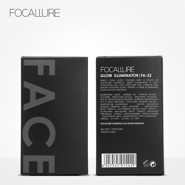 "FOCALLURE Illuminateur Liquide ""YOU GLOW"" 4 Teintes. #03 PURE GOLD ... MV35 - Arnaud and Co"