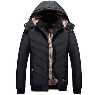 Mountainskin Winter Men's Jackets 4XL Thick Solid Parkas Men Coats Fleece Slim Fit Hooded Jacket Male Outerwear Casual SA346 - Arnaud and Co