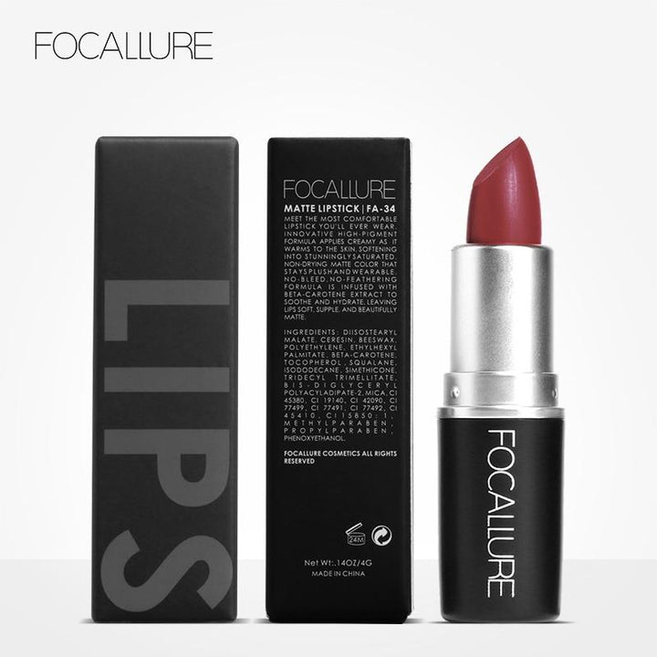 FOCALLURE: Rouge à Lèvres Bâton Mat Waterproof... # 5 JUBILEE ... LG47 - Arnaud and Co