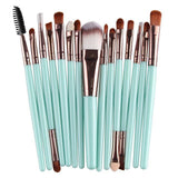 """Miami"" Pro 15Pcs/Kit pinceaux de maquillage - Arnaud and Co"