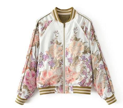 "Bomber Fashion Spring 2018 ""Bohème Flowers""... BF033 - Arnaud and Co"