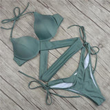 Vintage cross bikinis ... MBF023 - Arnaud and Co