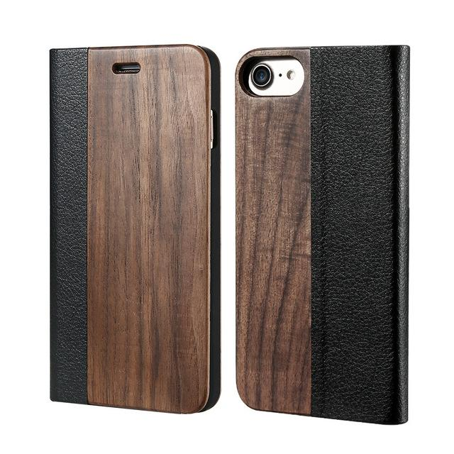 Mi-Bamboo Luxury Mid-Leather Smartphone Case for iPhone ... CS18 - Arnaud and Co