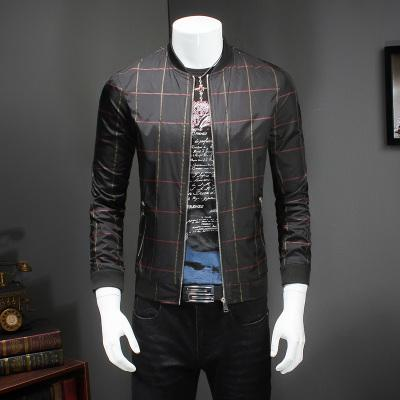 Satin Plaid Bomber ... WBH020 - Arnaud and Co