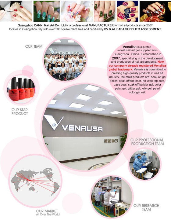 Soak Off LED UV Gel VENELISA... MM25