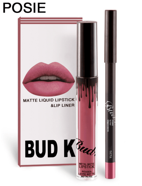 LIYADA Brand liquid matte lipstick kit lips pencil lips makeup lasting waterproof Mate pen lip gloss red has lip cosmetics - Arnaud and Co