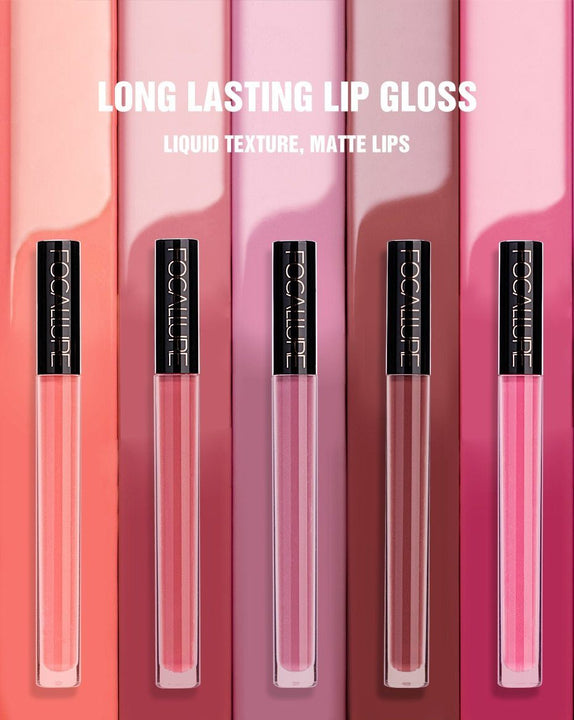 Matte Lip Gloss Velvet #7 RASPBERRY ICE ... LG80 - Arnaud and Co
