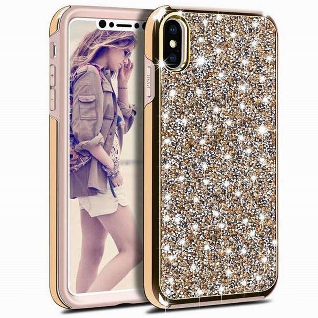 Coque de Protection rigide Luxe  Strass Effet Diamants pour iPhone... CS24 - Arnaud and Co