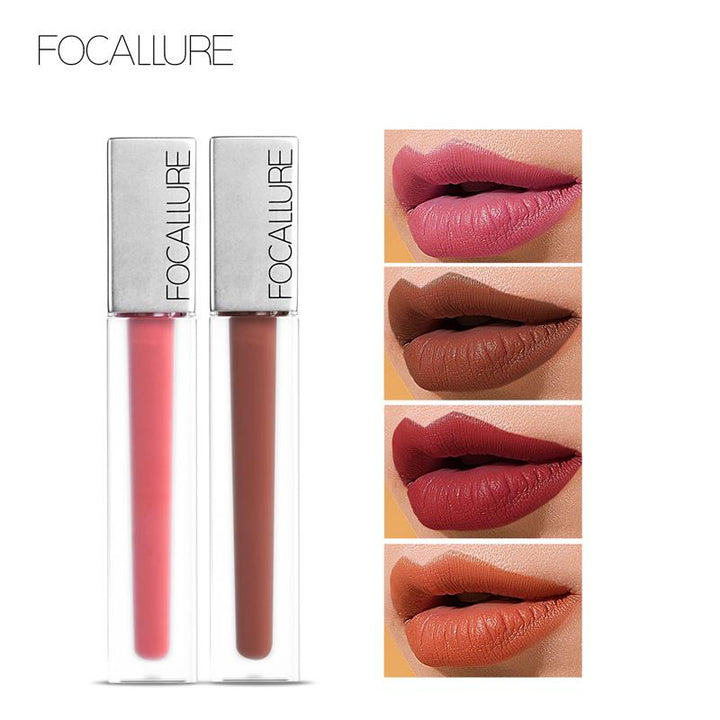 FOCALLURE Nouveau Liquide Ultra-Mat Satin Haute Qualité #03 POPPY... LG89 - Arnaud and Co