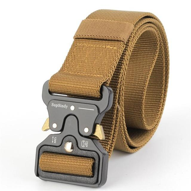 "Men's belts in canvas ""high quality webbing"" ... CH005 - Arnaud and Co"