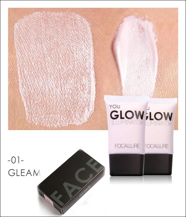 "FOCALLURE Illuminateur Liquide ""YOU GLOW"" 4 Teintes. #01 GLEAM 1... MV33"