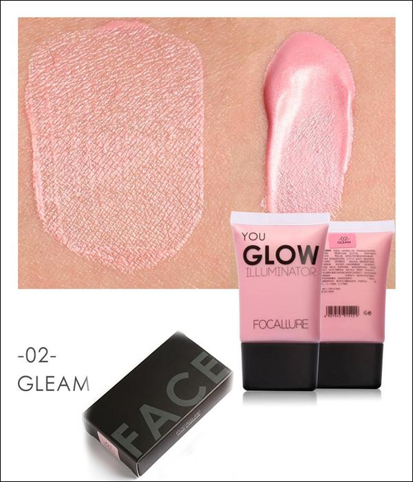 "FOCALLURE Illuminateur Liquide ""YOU GLOW"" 4 Teintes. #02 GLEAM 2... MV34"