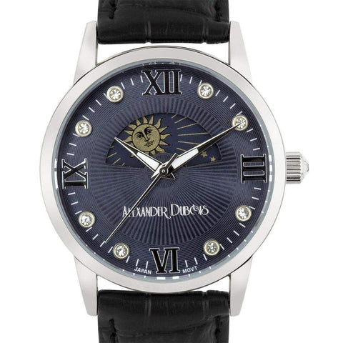 ALEXANDER DUBOIS NEW LUXURY MOON PHASE DIAL LADIES WATCH