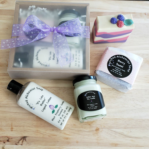 Berry Sweet Gift Set (Soap, Lotion, Small Candle)