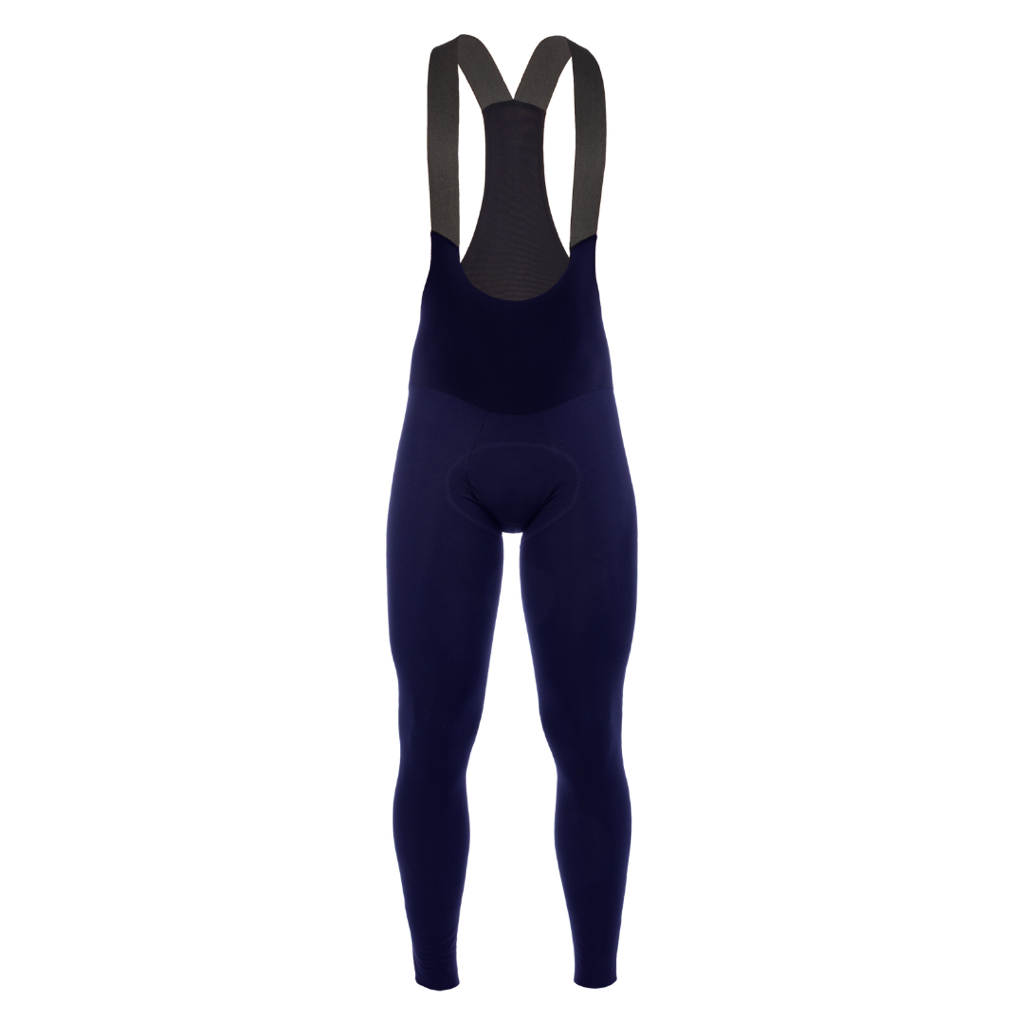 Q36.5 Termica Long Salopette L1 X - NAVY - Winter Tights mit Sitzpolster