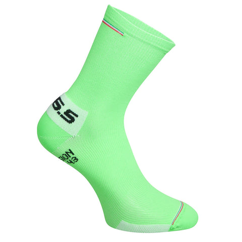 Q36.5 Compression Socken ITA green fluo