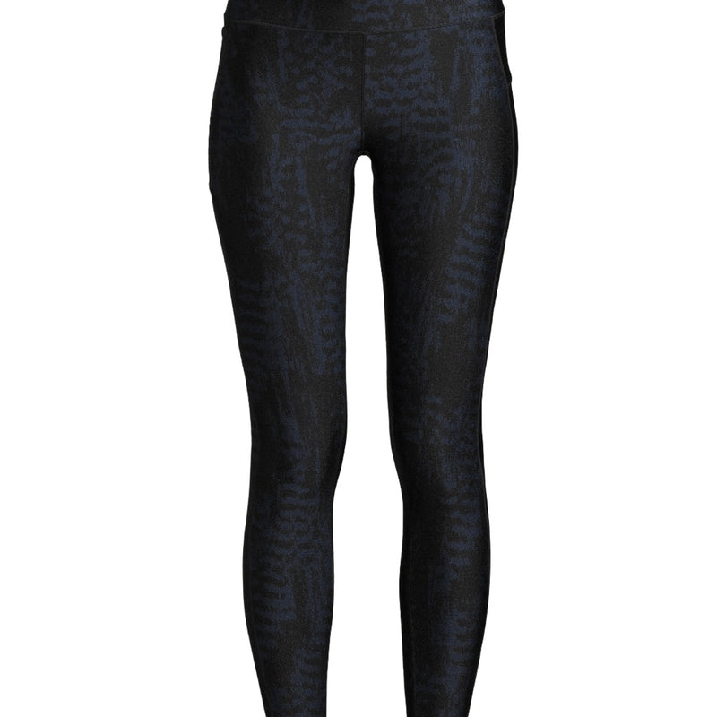 Casall Iconic Printed 7/8 Tights - Survive Dark Blue Metallic