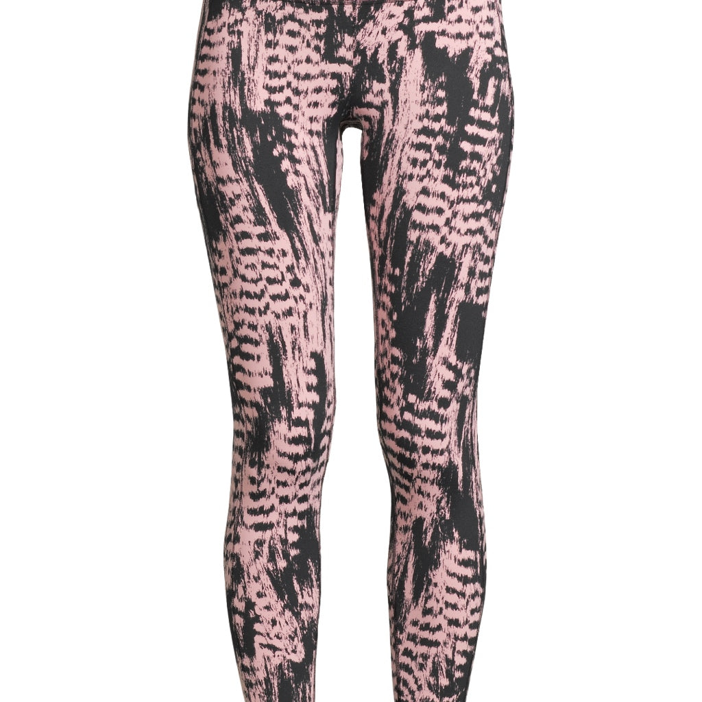 Casall Iconic Printed 7/8 Tights - Survive PINK