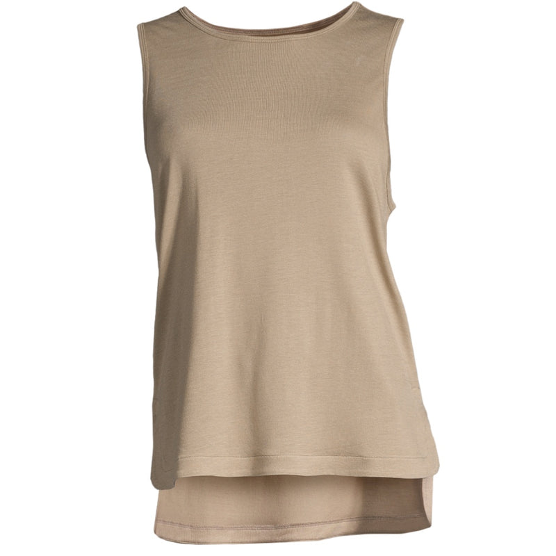 Casall Drapy Muscle Tank – Comfort Grey, nachhaltig