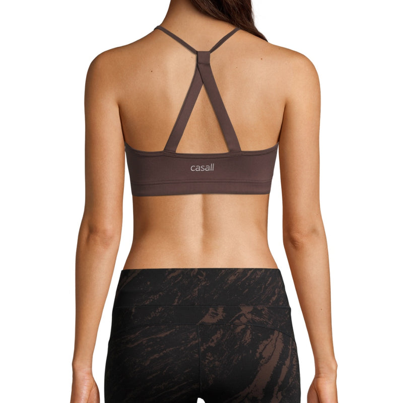 Casall Strappy Sports Bra – Powerful Brown