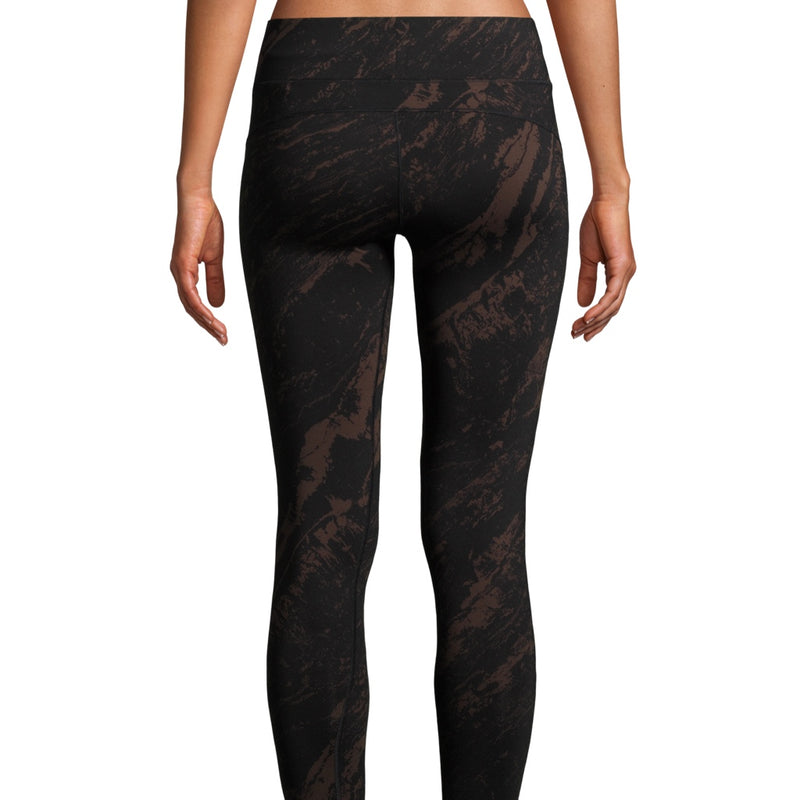 Casall Iconic Printed 7/8 Tights - Impulsive Brown