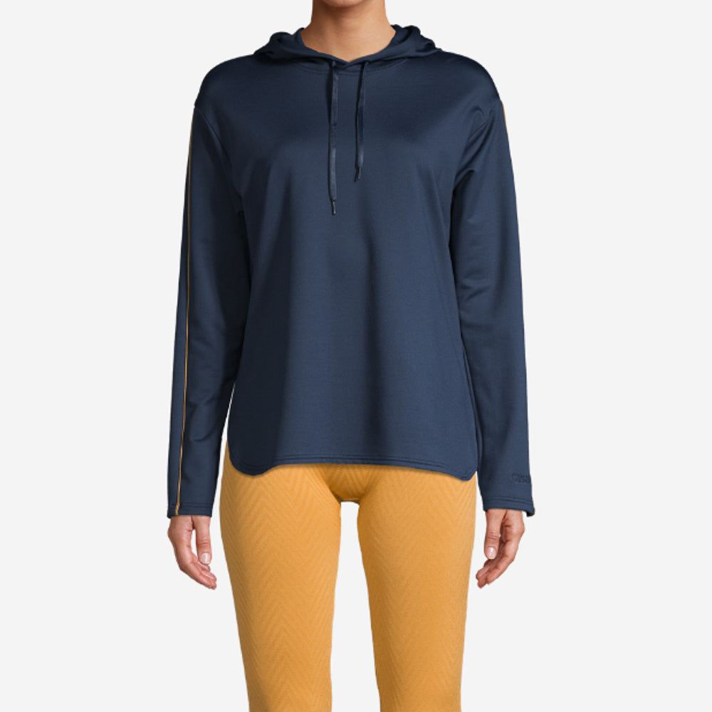 Conscious Gold Touch Sweater – Pushing Blue