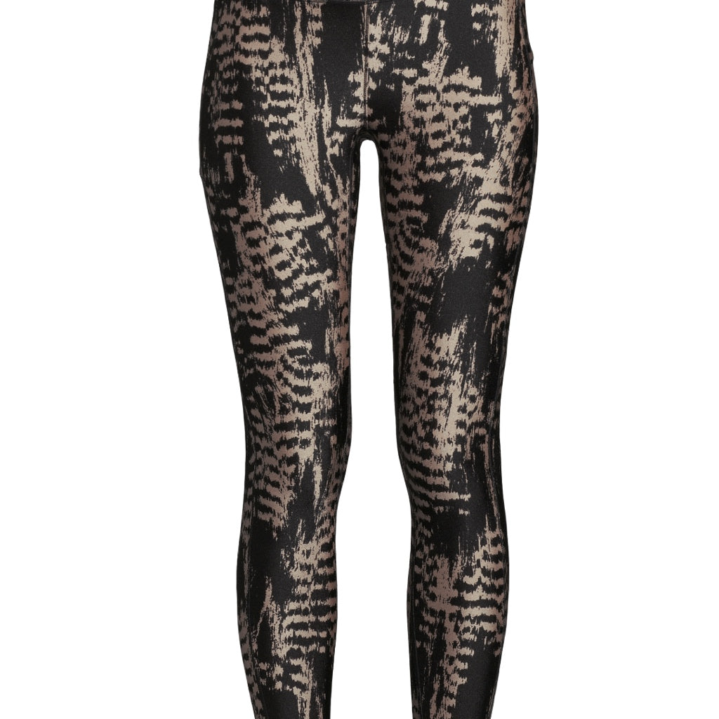 Casall Iconic Printed 7/8 Tights - Survive Grey Metallic