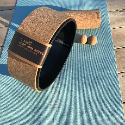 Casall Yoga Wheel Yoga Rad Cork Kork