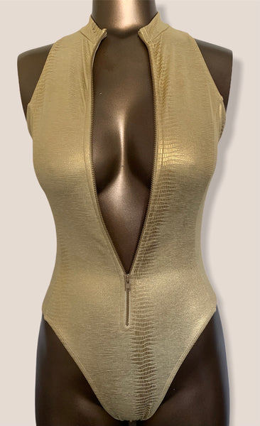 Bond Girl in Gold