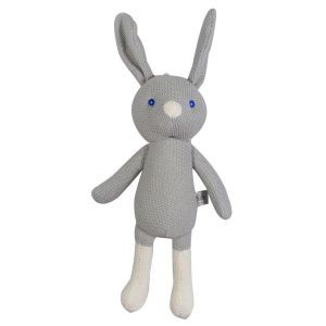 Knitted Dangly Bunny