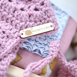 Handmade Crochet Baby Bonnet - Hooked in a Box