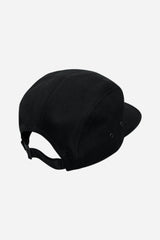 Classic 5 Panel Hat - Black