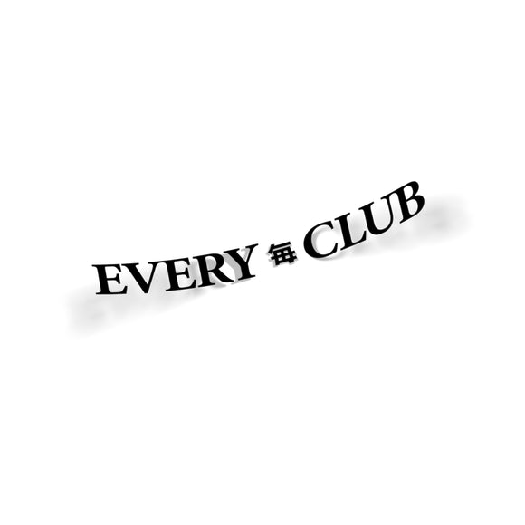 Every Club - Die Cut