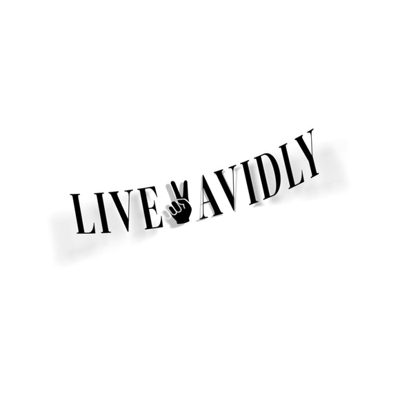 Live ✌🏻 Avidly - Die Cut