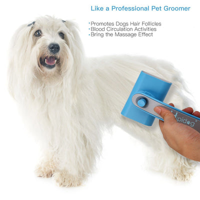 Dog Hair Brush, Hipidog Self-cleaning Slicker Brush Removes Tangled Knots
