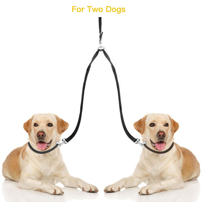 Reflective Leash Coupler, Hipidogpet Double Dog Leash