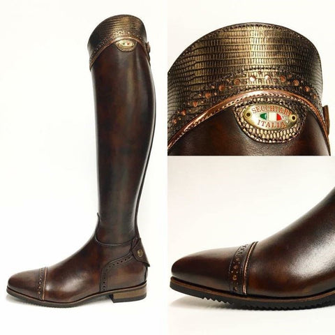 100 Bronze Top FC Riding Boots