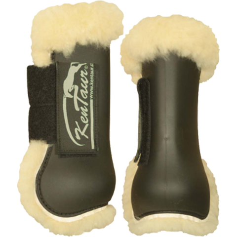 KenTaur Profi Jump Tendon Boots with Sheepskin 4060