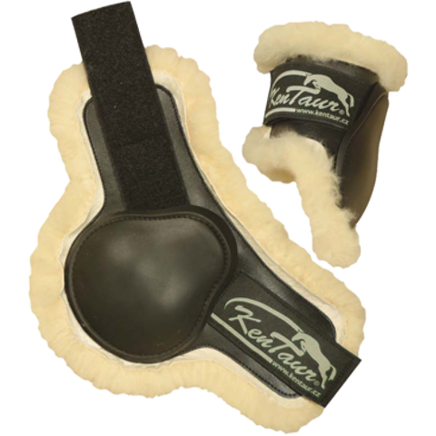 KenTaur Profi Jump Fetlock Boots with Sheepskin 4072
