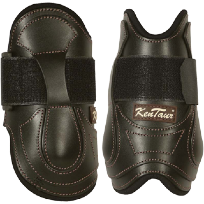 Kentaur Velcro Rear Leather Fetlock Boots 4101