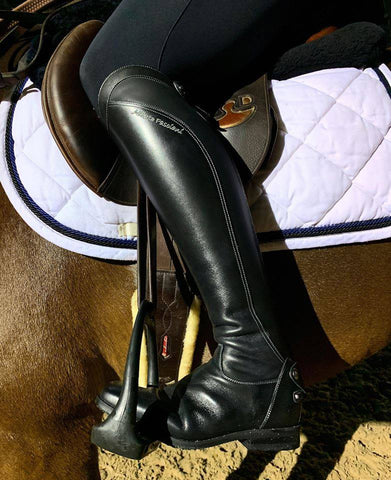 Modern Black Showjumping Boots 33073